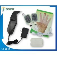 China Black Sub Health Analyzer With Electrode Heating Pads Probes For Acupuncture Stimulation wholesale