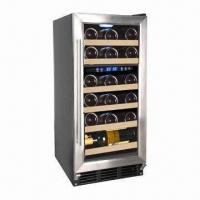 China 22 Bottle Capacity Dual Zone Wine Cellar, Built-in or Free-standing wholesale