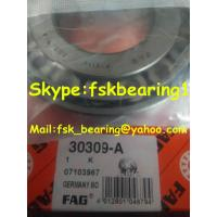 China Seperable Adjusted FAG 30309 J2/Q Tapered Roller Bearings for Auto Spare Parts on sale