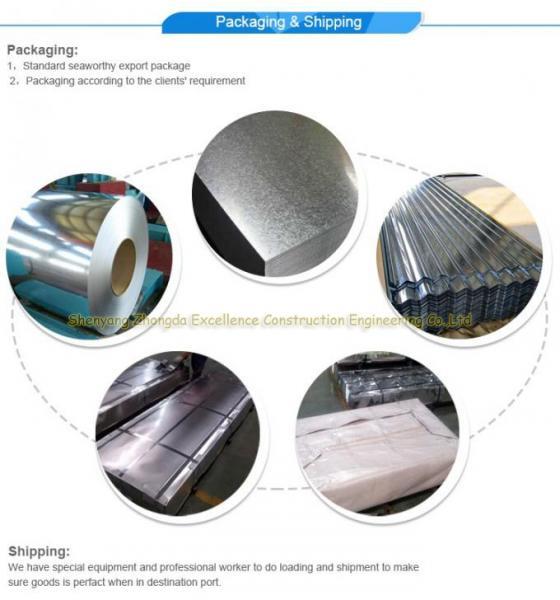galvanized sheet metal roofing price/gi corrugated steel sheet/zinc roofing sheet