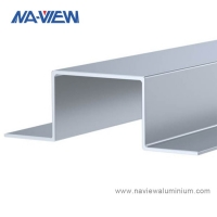 China Chinese Factory  Manufactured Aluminum Top Hat Channel Extrusion wholesale