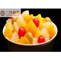 Buy cheap 850ml 5 fruits Mixed Canned Fruit cocktail Healthy Canned Fruit in light syrup from wholesalers