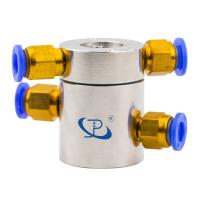 China Slip Ring of 2 Channels Rotary Union Routing Compressed Air with Extremely Low Torque wholesale