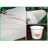 Buy cheap 100% Biodegradable PLA Coated Food Grade Paper Roll Cup Base Paper 210g + 26g from wholesalers