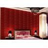 Buy cheap 3D Wall Board Custom Natural Fiber Wallpaper from wholesalers