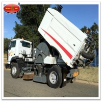 China Excellent Quality Road Sweeper Tow Road Brush Sweeper for sale wholesale