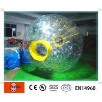 China Giant Environmental Inflatable Zorb Ball / water zorb ball for Entertainment water games wholesale