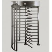 Quality 316 Stainless Steel Security Semi-Automatic / Manual Full Height Turnstile for sale
