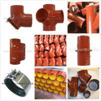 China china supply EN877 epoxy cast iron pipes and fittings on sale