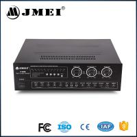China Top Class D Home Theater Audio Mixer Amplifier Merging Black 600W wholesale