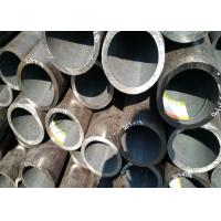 China Painted Seamless Black Pipe , Optional Length High Stress Seamless Steel Tube wholesale