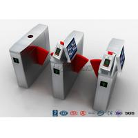 Quality Retractable Optical Turnstile Security Systems Electric For Airports Access for sale