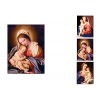 China 0.6mm PET Flip Religion Virgin Mary / Jesus 3D Lenticular Images For Wall Decro​ wholesale