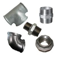 China DIN,bs,american,galvanized malleable iron pipe fittings,galvanized fittings,elbow,socket,nipple,tee,cross,cap,plug wholesale