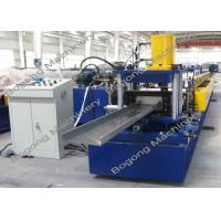 China C200 PLC Control Purlin Roll Forming Machine Customized 10 - 20m / Min Speed wholesale
