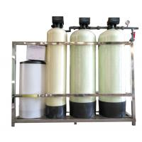 China FRP TANK Automatic FLECK Fleck Water Softener Unit , Industrial Water Softener wholesale