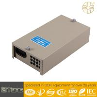 China Single Ended Inlet / Outlet Port Fiber Optic Termination Box With Cable Fixing Device wholesale