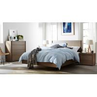China Apartment Furniture Modern design Bedroom sets of Single Bed with Nightstand and Drawer Chest wholesale