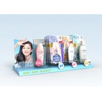 Quality Advertisement Acrylic Counter Stands Lightweight For Skin Care for sale