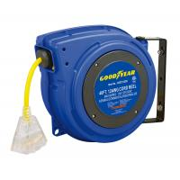 Buy cheap Goodyear Plastic Spring Driven Cord Reel With 40' Length 125V Cord from wholesalers