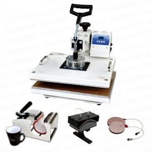 China 5 in 1 T-shirt / mug / cap multi-function heat press machine wholesale