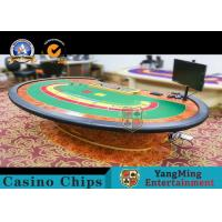 China Baccarat Tables Casino NiuNiu Gaming Table Deluxe Casino Grade Heavy Duty wholesale