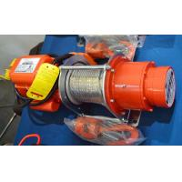 High performance electric wire winch