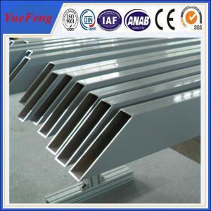 China aluminum tube anodized colored/ Custom aluminum profile tube/ aluminum alloy profile tube wholesale