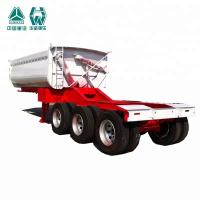 China Heavy Duty Tipper Semi Trailer With Extra Durability I Beam Chassis wholesale