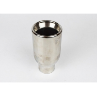 China Stainless Steel 203mm SS304 2.5 Inlet 4 Outlet Exhaust Tip wholesale