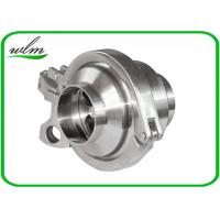 China Durable Hygienic Non Return Check Valve Butt Weld End One Way Flow Direction wholesale