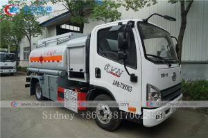 China FAW 4X2 5000liters Fuel Dispenser Tanker Truck Diesel Delivery and Refueling Truck wholesale