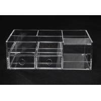 China Clear Commercial Store Fixtures 6 Compartments For Mix Makeup Store​ wholesale
