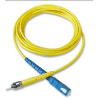 China FC SC Fiber Optic Patch Cord Simplex Fiber Optic Cable Used In Telecommunication wholesale
