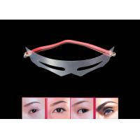 Buy cheap 12 Style Transparent Eyebrow Shaping Mold With Accurate Measurement from wholesalers