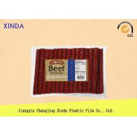 China NY / PE Clear Window Food Vacuum Bags with 3 Layer Co Extruded Film Logo Printing wholesale