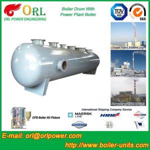 China Garbage Incineration Instrument Boiler Mud Drum TUV Certification wholesale