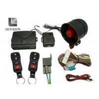 China Long Distance High Tech Car Security Systems , Vehicle Security And Remote Start Systems wholesale
