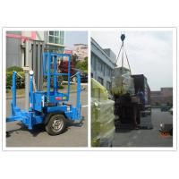 China Trailer Type Vertical Mast Lift , 6 Meter Personnel Lift Platform For Outdoor Working wholesale