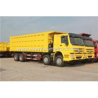 China SINOTRUK HOWO 8X4 12 Wheelers Dump Truck For Mining Site And Construction Project wholesale
