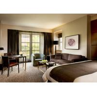 Quality Commercial 5 Star Hotel Bedroom Furniture With Urban Wooden Panel for sale