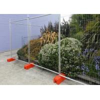China Swimming Pools Temporary Construction Fence Panels / Building Site Fencing wholesale