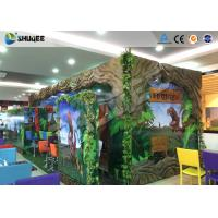 China Interactive 7D Movie Theater Box With Specail Design , Like Dinosaur Box wholesale