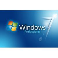 Quality Microsoft Windows 7 Professional genuine software online activation OEM keys 32/64bit Download for sale
