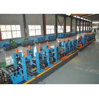 China ERW Round Carbon Steel Pipe Making Machine With Worm Adjustment High Precision wholesale