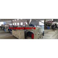 China Anti Chemical Corrosion Plastic Board Production Line Crust Foam WPC Board Production Line wholesale