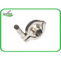 China DIN 32676 Sanitary Tri Clamp Fittings Couplings Set For Food Chemical / Pharma Equipments wholesale