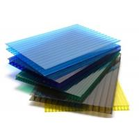 China Twinwall Sun Board Hollow Polycarbonate sheet for Bus Shelter on sale