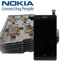 China NOKIA LUMIA 800 Lcd with Compatible Digitizer Touch Screen and Frame wholesale