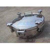 China Stainless Steel Manhole Cover For Tank With Competitive Price wholesale